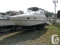 Clean & Pristine, this Maxum 270 SCR is excellent for