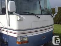 2001 37' rexhall motor home diesel, 36000kms, 55000obo,
