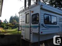 2001 8 foot Adventurer Camper. North/South Bunk,Fold