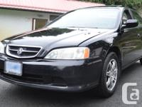 Make Acura Model TL Year 2001 Colour Black kms 190000
