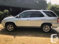 Make Acura Model MDX Year 2001 Colour Silver kms