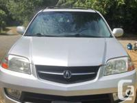 Make Acura Year 2001 Colour Silver Trans Automatic kms