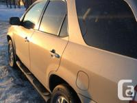 Make Acura Model MDX Year 2001 Colour Gold kms 129000