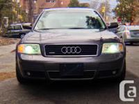 2001 Audi A6 Quattro for sale.  4.2L V8 engine runs
