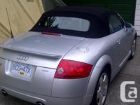 Make Audi Model TT Year 2001 Colour Silver / Black Top