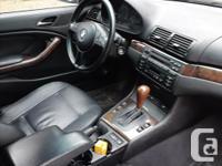 Make BMW Model 325Ci Year 2001 Colour Black kms 127000
