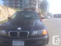Make BMW Model 325i Year 2001 Colour Blue kms 154000