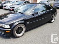 Make BMW Model 330Ci Year 2001 Colour Black kms 212241