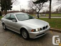 2001 BMW  525I, 1 owner, clean carproof, no accidents,