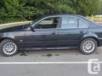 Make BMW Model 530i Year 2001 Colour Black kms 176000