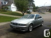 2001 BMW 540i M sport addition with black leather