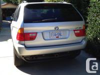 Make BMW Colour Silver Trans Automatic Super clean, no