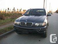 2001 BMW X5 4.4L. 8 CYLINDERS. AUTOMATIC TRANSMISSIONS.
