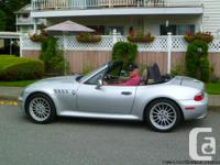 2001 BMW Z3 3.i 6 SPEED AUTOMATIC HEATED LEATHER SEATS