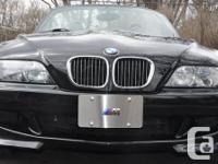 2001 BMW Z3 ,M M0DEL WITH S54 ENGINE, ORIGINAL WOMEN