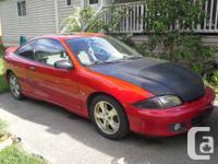 "2001 chevy cavalier Z-24. lowerd 1.5"" front 1.25"""