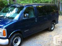 Make Chevrolet Model Express 2500 Year 2001 Colour