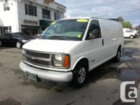 Make Chevrolet Model Express Cargo Van Year 2001