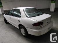 Make Chevrolet Model Cavalier Year 2001 Colour White