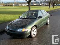 Make Chevrolet Model Cavalier Year 2001 Colour Forest