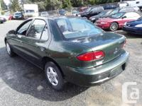 Make Chevrolet Model Cavalier Year 2001 Colour Green