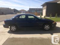 Make Chevrolet Model Cavalier Year 2001 Colour Blue