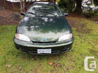 Make Chevrolet Model Cavalier Colour Green Trans
