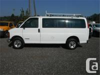Make Chevrolet Model Express Year 2001 Colour White