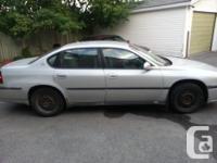 Colour silver Trans Automatic kms 180000 2001 Impala