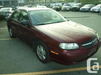 Make Chevrolet Model Malibu Year 2001 Colour Red kms