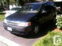 2001 Chevrolet Venture Mini-Van: blue colour for sale