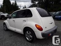 Make Chrysler Model PT Cruiser Year 2001 Colour White