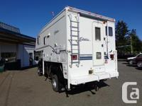 "This is a well equipped 2001 Citation 9' 1"" Camper with"