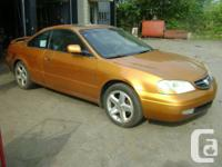 2001 Acura 3.2 CL Kind S Coupe.  - 2 Door Coupe,