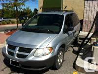 2001 Dodge Caravan, I Just changed Brand NEW DISC and