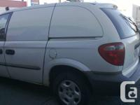 219,000 km  2001 cargo bell truck  Well maintained