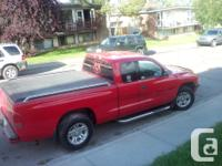 Make Dodge Model Dakota Colour red Trans Manual kms