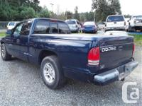Make Dodge Model Dakota Year 2001 Colour blue kms for sale  British Columbia