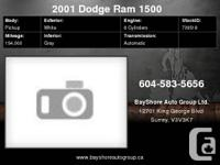 Check out our website for more pics     2001 Dodge Ram