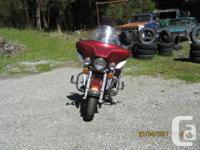 Make Harley Davidson Model Electra Glide Year 2001 kms