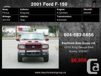 Check out our website for more pics     2001 Ford F-150
