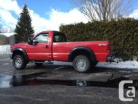 5.4L autom. 108 thousand miles (175 km) long box. PLOW