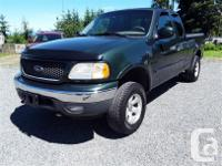 Make Ford Model F-150 Year 2001 Colour green kms