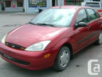 Make Ford Model Focus Year 2001 Colour red kms 169000