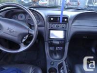 Black 2001 mustang GT  188,000 KM automatic BLACK