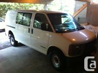 2001 GMC Savana 3500 Van 5.7L V8 Heavy Duty Suspension
