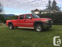 Make GMC Model Sierra 2500 HD Year 2001 Colour Red