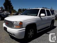 Used, Make GMC Model Yukon Denali Year 2001 Colour white kms for sale  British Columbia