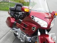 Make Honda Model Goldwing Year 2001 kms 137000 2001