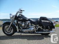 2001 Harley Davidson Softail Deluxe FLSTN , This Custom